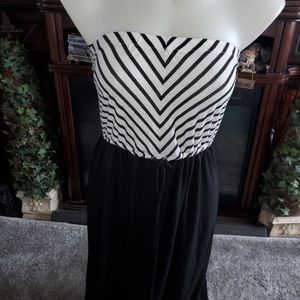 Tube top maxi dress MED